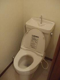 メゾン.ド.ブランA 202号室のトイレ