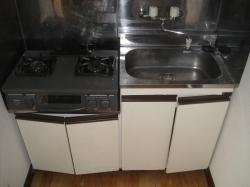 サンシャイン 201号室のキッチン