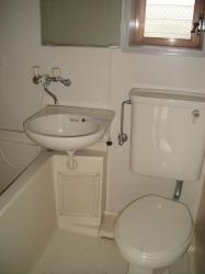 サンシャイン 201号室の風呂