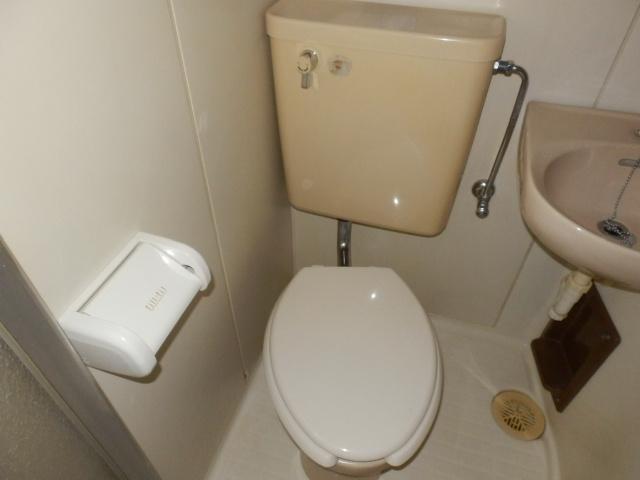 セゾンサンヒルズ 201号室のトイレ