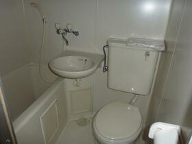 セジュール高松 205号室の風呂