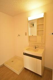 サンフラワー 403号室の洗面所