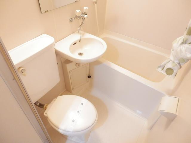 ブランニュー美しが丘 402号室の風呂
