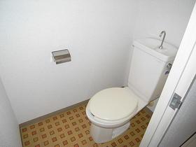 石原第7マンション 203号室のトイレ