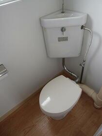 コーポ一色 203号室のトイレ