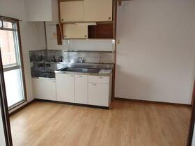 コーポ一色 203号室のキッチン