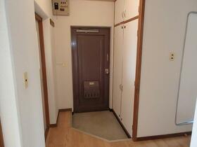 コーポ一色 203号室の玄関