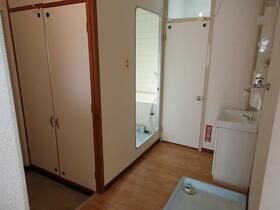 コーポ一色 203号室の洗面所