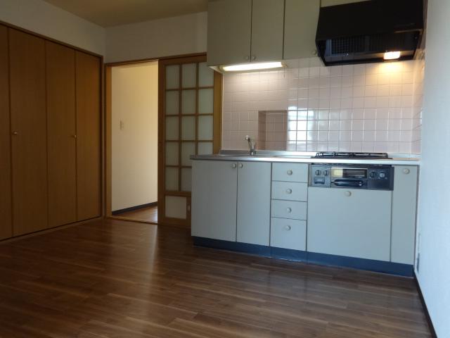 マテール寺田 203号室のキッチン