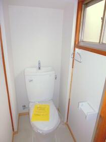 旧並木荘 2号室のトイレ