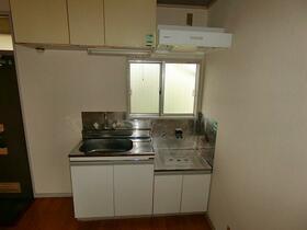 コンシェール登呂 201号室のキッチン
