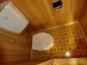 コンシェール登呂 201号室のトイレ