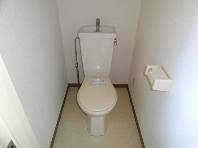 リージェント手越原 403号室のトイレ