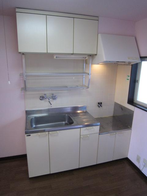 パレスカトレア 101号室のキッチン