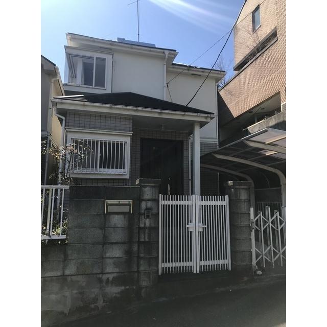 田奈町貸家の外観