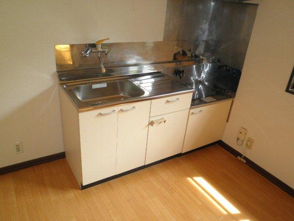 ヴィラ堀池B棟 201号室のキッチン
