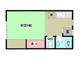 ハイツ吉田・201号室の間取り