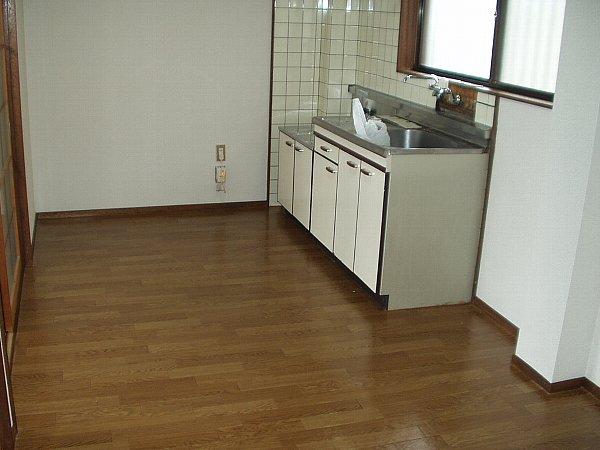 シティハイツサンマリノ 02040号室のキッチン