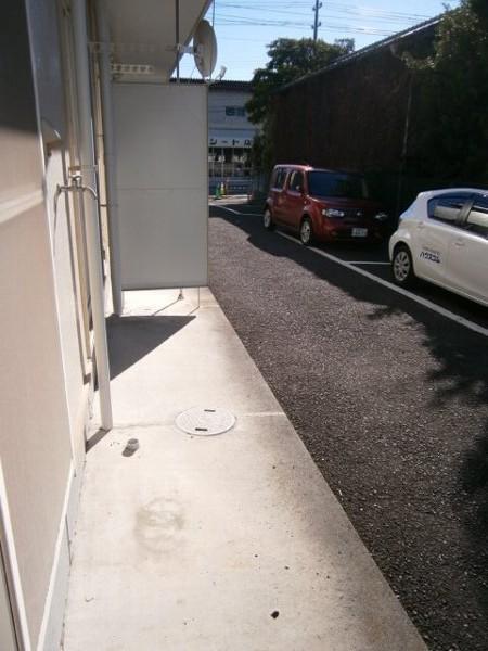 ハイツワタナベ 103号室のバルコニー