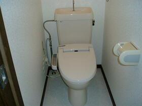 シーフイールド 105号室のトイレ