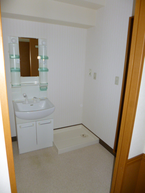 ハイウッド 402号室の洗面所