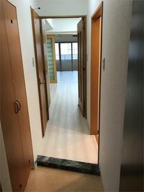 オークヒルズ壱番館 301号室の玄関