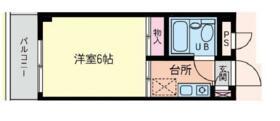 ニュー瑞江・103号室の間取り