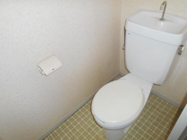 カーサヤマト 202号室のトイレ