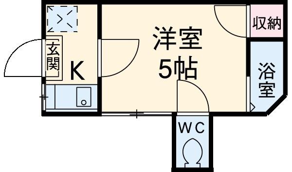 コエル第2ビル・101号室の間取り
