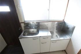 MIDコーポ 202号室のキッチン
