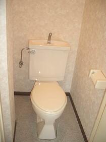 第三千種ビル 402号室のトイレ