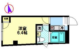 ウィンレックス田端・303号室の間取り