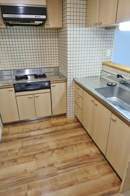 リベルジェ尾久駅前 702号室のキッチン