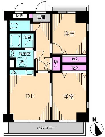 カーサデシノセ・0903号室の間取り