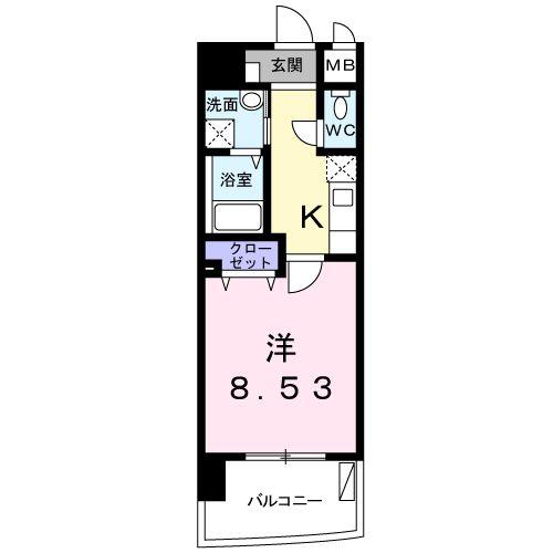MSビル・02020号室の間取り