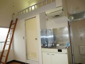 滝野川グリーンハイツ 202号室のキッチン