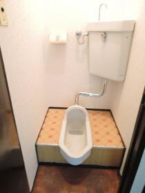 栄荘 202号室のトイレ