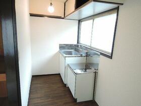 栄荘 202号室のキッチン