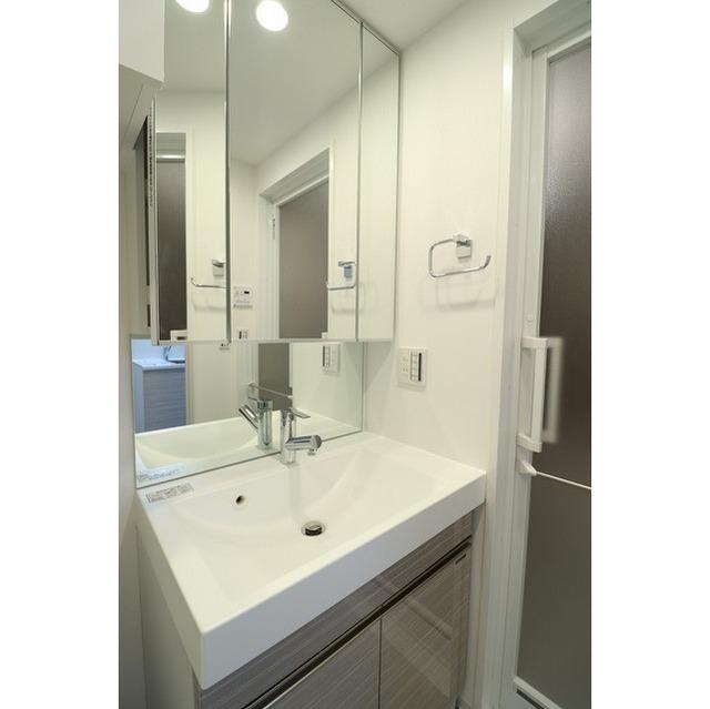 ジオエント巣鴨 0201号室の洗面所
