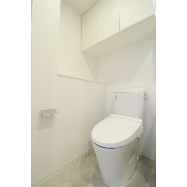 ジオエント巣鴨 0201号室のトイレ