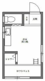 江川ハイツ・211号室の間取り