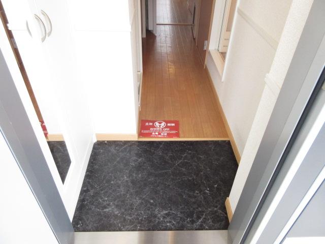 レオパレスウィズユー 103号室の玄関