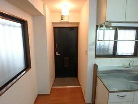 サンハイム 101号室の玄関
