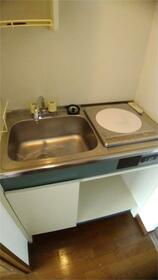 ブリス板橋 402号室のキッチン