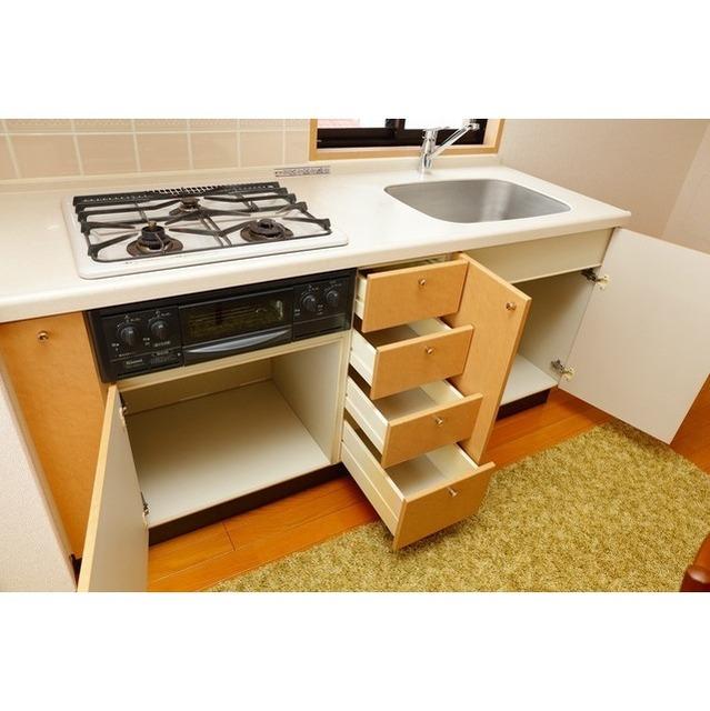 K's新中野 0301号室のキッチン