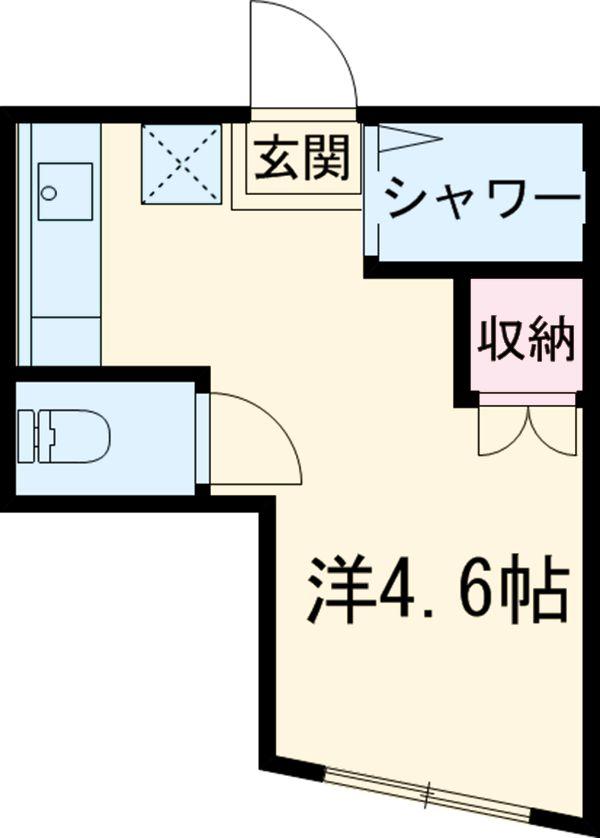 アーバンプレイスⅤ坂上A棟 103号室の間取り