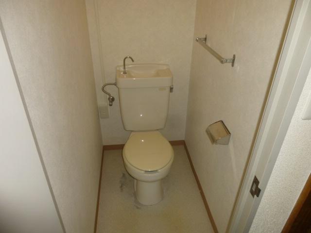 篠原第2ビル 303号室のトイレ