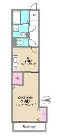 陽だまり荘(ヒダマリソウ)・306号室の間取り