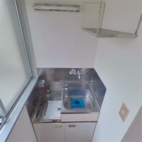 コーポ富士 107号室のキッチン