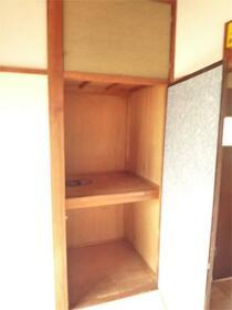 murayama-sou 203号室の収納